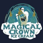magical crown ice cream by piercek26
