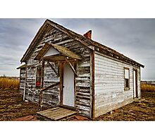 Old Rustic Rural Country Farm House  Photographic Print