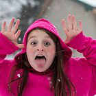 Snowfall Goofiness by Sharlene Rens