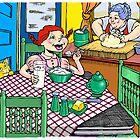 Breakfast @ Grandma's by JerryWayne Anderson