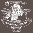 Gandalf&#x27;s Eagle Transport Service  by Tom Trager