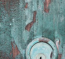 Verdigris Patina - Antique Door Lock by txjeepguy2