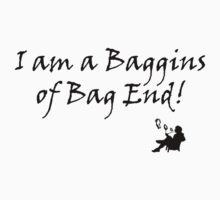 """I am a Baggins of Bag End!"" by Darlene2012"