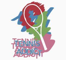 Tennis Addict by superbog