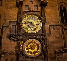 Prague Astronomical Clock by phil decocco