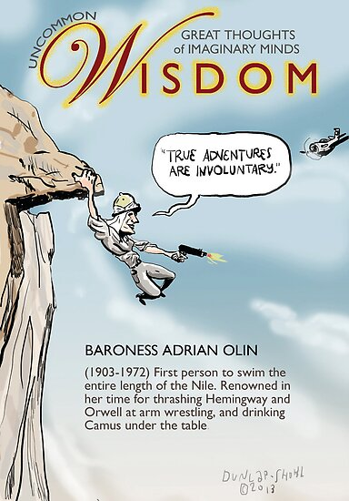 Uncommon Wisdom: True Adventure by dunlapshohl