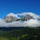 Alps near Sent, Switzerland by Claudio Del Luongo