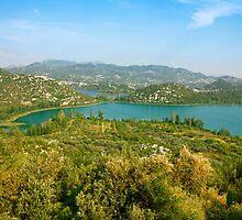 The Bacina Lakes panoramic view by kirilart