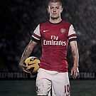 Jack Wilshere by andyjacksmith