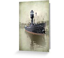 spurn lightship Greeting Card