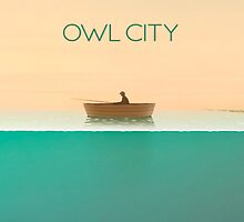 Owl City - The Midsummer Station iPhone/iPad Case by Sam Ryan