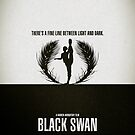"Movie Poster - ""BLACK SWAN"" by Mark Hyland"