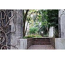 Sanctuary, stone and Solitude Photographic Print