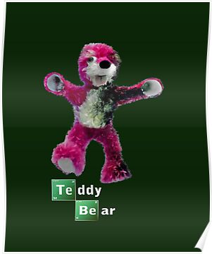 Breaking Bad Teddy Bear by Paul Gitto
