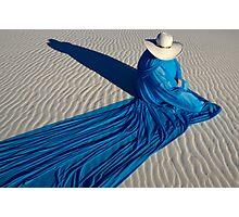 Mystic Blue 2 Photographic Print