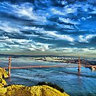 San Francisco from Marin by Alberta Brown Buller