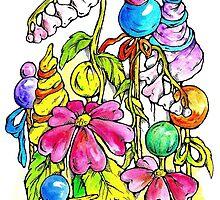 Sweet flora 2 by Renata Lombard