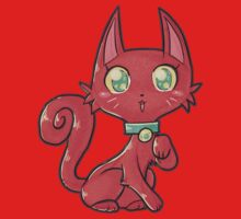 Pretty Red Kitty Cat by SaradaBoru