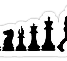 Chess Boxing Sticker