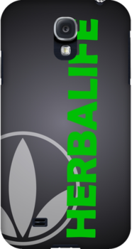Black Herbalife Custom iPhone Case by Scott Hawkins