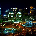Overlooking the Queen City by Ty Helton