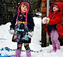 Snow sisters by melek0197