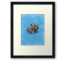 Fallen Kingdom Minecraft Framed Print