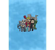 Fallen Kingdom Minecraft Photographic Print