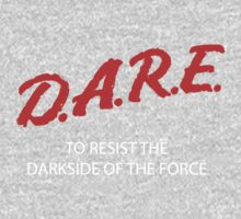 D.A.R.E. to resist the darkside Kids Clothes