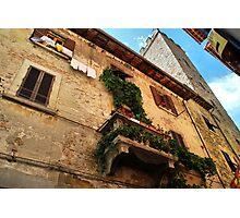 Life Above-Arezzo, Italy Photographic Print