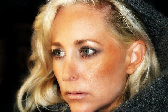 Blond Woman by Henrik Lehnerer