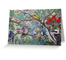 In The Treetops Greeting Card