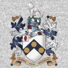 James Bonds coat-of-arms and family motto The world is not enough  by axletee