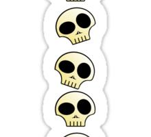 Skulls!!! Sticker
