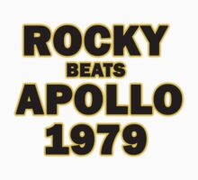 Rocky Beats Apollo 1979 by Tim Miklos
