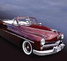 50 Maroon Merc by WildBillPho