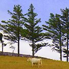 The Cow And The Lonesome Pines by Fara