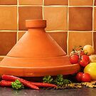 Tagine With Vegetables Seeds Fruits And Spices by charliefoxtrott