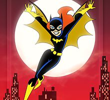 Batman The Animated Series - Batgirl by patallen13