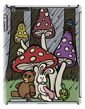 Teddy Bear And Bunny - Rainy Day Blues by Brett Gilbert