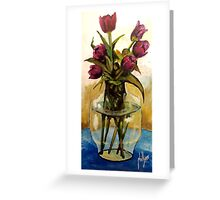 Just Tulips Greeting Card