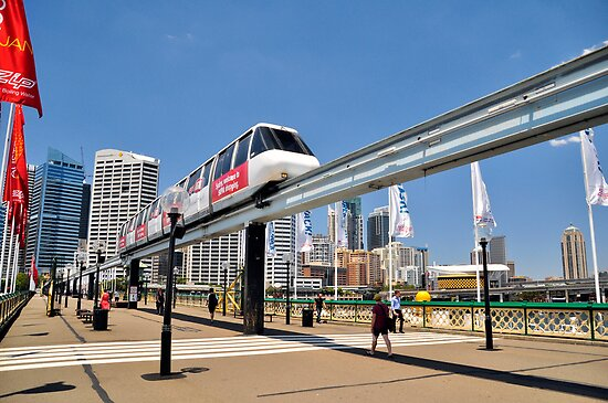 Sydney Monorail by Terry Everson