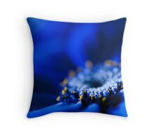 Blue Moon.  Throw Pillow