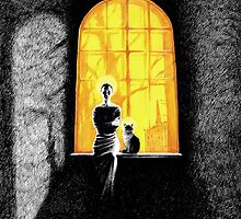 'Icon of Exaggerating Darkness' by Sergei Rukavishnikov by Alenka Co