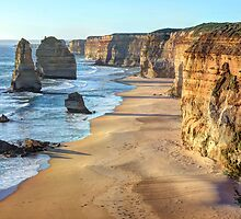 The Twelve Apostles, Great Ocean Road, Princetown, Victoria, Australia by Martin Lomé