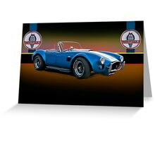 1966 Shelby Cobra 427 w/Badges Greeting Card