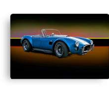 1966 Shelby Cobra 427 w/o Badges Canvas Print