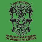 Fight Or Flight Gym Wear No Man Alive by fightorflight