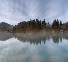 Plitvice panorama by Ivan  Prebeg