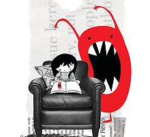 Reading is Cool by Holly Hatam